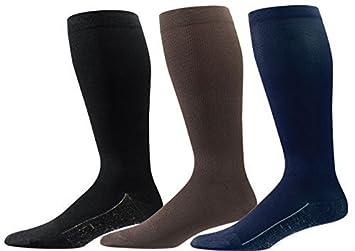c13973e4e4 Image Unavailable. Image not available for. Color: Aetrex Copper Sole Men's Compression  Socks ...