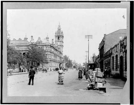 Photo Church Street & Town Hall Maritzburg South Africa by Photographic Archives