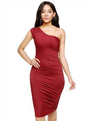 寝室ロマンス登るZeagoo DRESS レディース US サイズ: S カラー: レッド