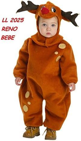 Disfraz de Reno Bebe: Amazon.es: Ropa y accesorios