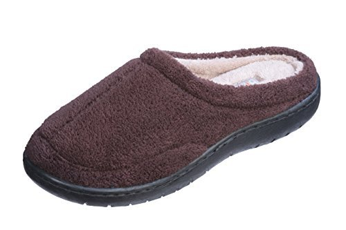 Popeez Boys Winter Slippers (4-5 M US Little Kid, Brown)