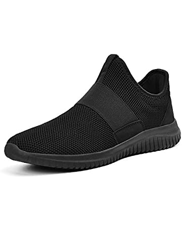 ca45a45510 Feetmat Women's Sneakers Slip-On Lightweight Breathable Tennis Walking  Running Casual Shoes