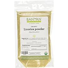 Banyan Botanicals Licorice Root Powder, 1/2 Pound - USDA Organic - Glycyrrhiza glabra - Ayurvedic Herb for Lungs, Skin, & Stomach …