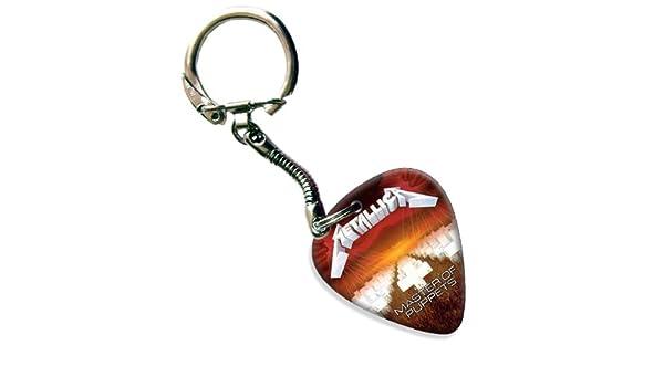 Metallica Master Guitarra Púa Para Llavero Schlusselring ...