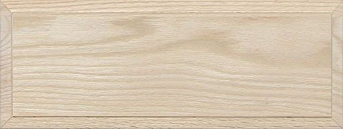 - Unfinished Oak Flat Drawer Front with Edge Detail by Kendor, 6H x 16W