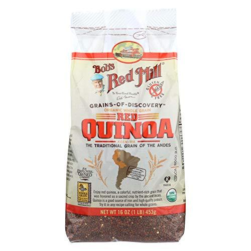 Bobs Red Mill Organic Quinoa Grain, 16 Ounce - 4 per case