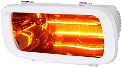 Estufa infrarrojos 1300 W Blanca