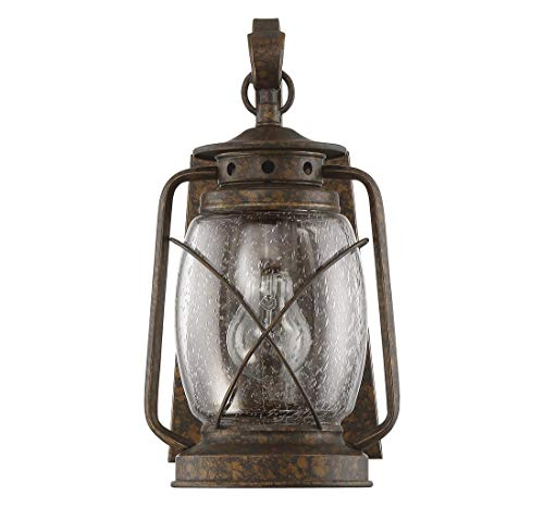 Savoy House 5-3410-56,Smith Mountain Wall Mount Lantern,New Tortoise Shell (Smith Mountain New Tortoise Shell)