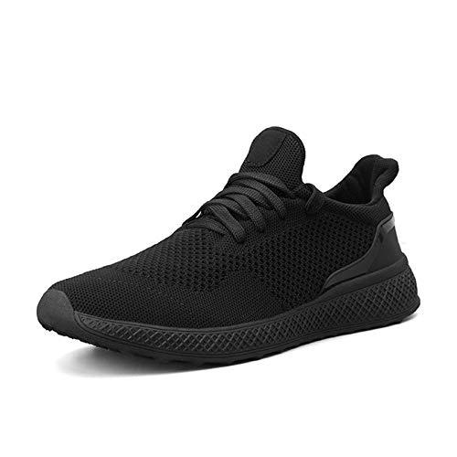 HYSNZJK Gym wandelschoenen, loopschoenen, ademend, turnschoenen, veterschoenen, sportschoenen, sneakers voor heren en…
