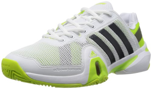 Adidas Adipower Barricade 8 Tennis Shoes - 10 - Green