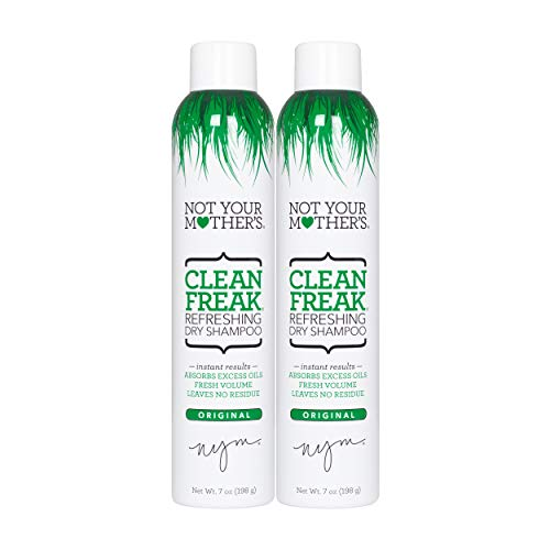- Not Your Mother's Clean Freak Refreshing Dry Shampoo Duo Pack 14 ounce