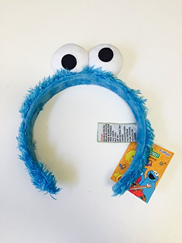 Sesame Street Elmo Cookie Monster Headband Head Band Kid & Adult One Size Halloween Costume Accessory ()