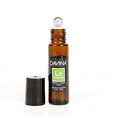 Loosen Up Stress & Anxiety Essential Oil Blend Roll-on 10ml Therapeutic Grade by Davina … Ready to Go!