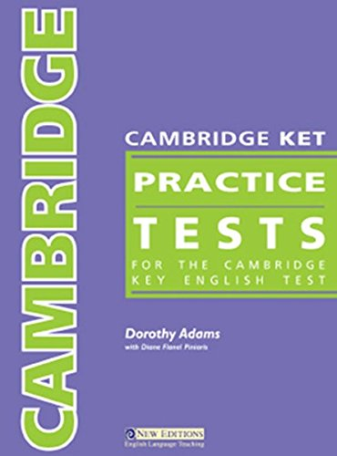 Download Cambridge Practice Tests KET Students Book with Audio CD & Answer Key pdf epub