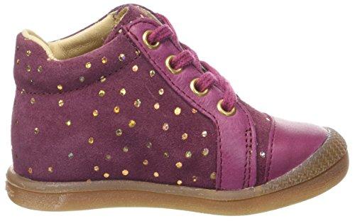 groseille Falsifi Rojo Pasos 077 Zapatos niñas Primeros De Bebé Babybotte Or xw680d6