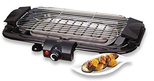 DCG BQS2496 Bistecchiera Barbecue, 2000 W piastra