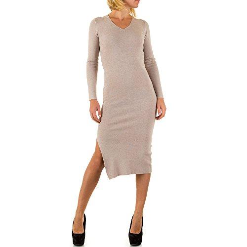 iTaL-dESiGn - Vestido - Túnica - para mujer Beige
