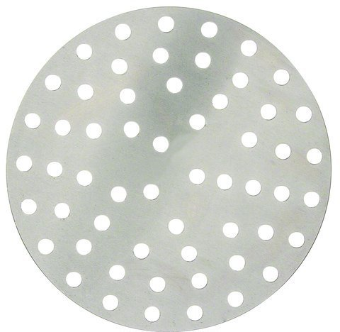 (Winco APZP-11P, 11-Inch Aluminum Perforated Pizza Disk with 113 Holes, Pizza Screen)