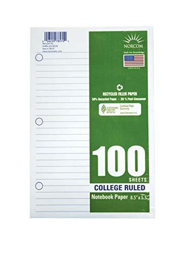 - Office Depot Brand Filler Paper, 8-1/2