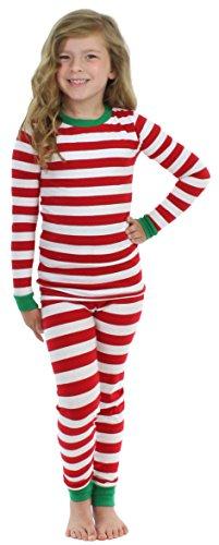 Sleepyheads Children's Festive Holiday Knit Pajama Pj Sets F17-SHK7-3009-STRIPE-4 - Stripe Pyjama Set