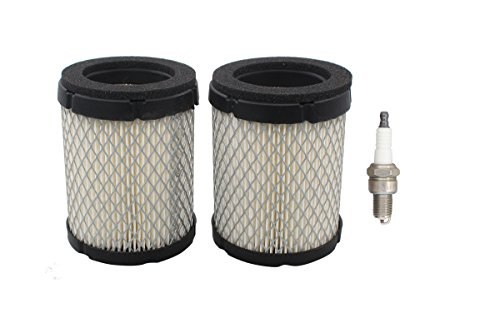 140-3280 Air Filter + Spark Plug for Onan Microlite Propane Generator 3600 4000 QG4000 Micro Quiet Cummins RV QG Generator 4K Genset KVD SPEC. A-B, KY SPEC. B-M,4KY B-P Camp Power MicroLite 48-2017