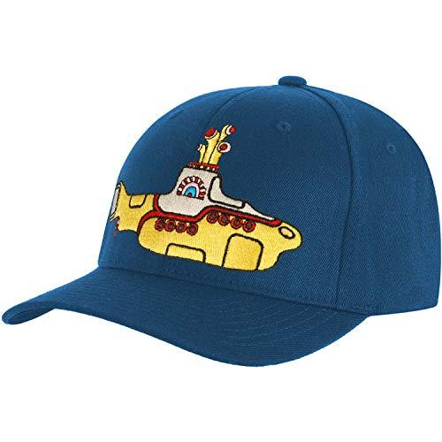 The Beatles Men's Baseball Cap: Yellow Submarine (mid Blue)