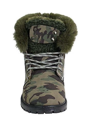 By Shoes Women's Fashion Boots Militaire 76xrp4fFTA