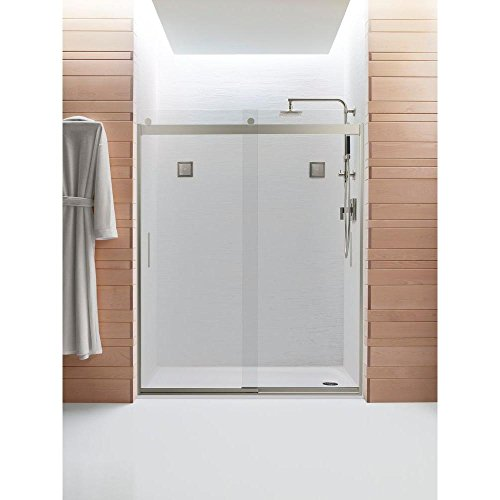Frameless Bypass Shower Doors - 1