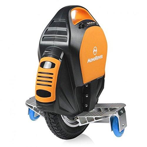 con el Adaptador de la UE MonoRover R1 Sola Rueda Auto Equilibrio Monociclo Scooter el/éctrico Single Wheel Self Balancing Unicycle Electric Scooter