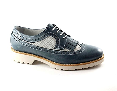 Navy Blu 17193 Blå Sort English Haver Fringe Lædersko Oxford PP46wvnx