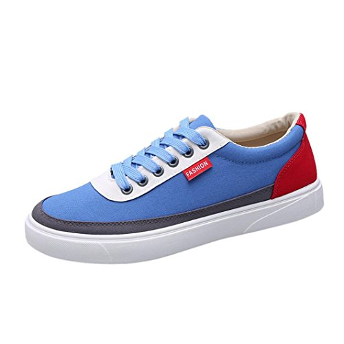 41 Outdoor Stitching Women's Shoes Travel Casual Shoes Blue Shoes Men's Men's amp; Shoes Lacing Women's Sports Shoes Luoluoluo Shoes Spring qBwanxYUv5