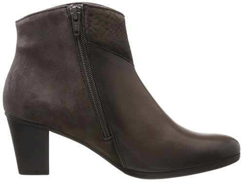 Gabor Shoes Damen Gabor Basic Stiefel, Grau (Zinn (Effekt)(Mic)), 36 EU