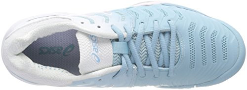 1493 Donna Gel Scarpe Turchese Asics resolution porcelain Da 7 Bluesilverwhite Tennis x1vqpqwU