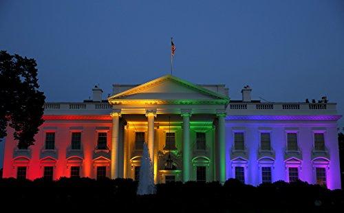 - Gay Marriage Rainbow White House Poster Art Photo Obama Administration Posters Artwork Photos 12x18
