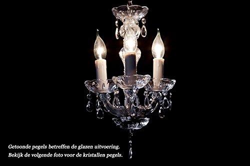 Kronleuchter Flammig Modell : Kronleuchter kristall chrom flammig maria theresa Ø cm