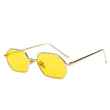 Gafas De Sol.Vintage Pequeño Octágono Gafas De Sol Mujer ...