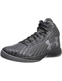 Men s Jet Mid Basketball Shoe Black Steel White 1fdb90377