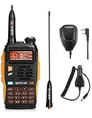 BAOFENG GT-3 Dualband VHF/UHF handradio, spraakradio, amateurradio, LCD-display, walkietalkie, PMR CTCSS/CDCSS met microfoon