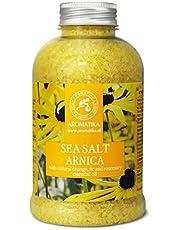 Badzout Valkruid (Arnica) 600 g - Droge Huid - Spierpijn - Vermoeidheid - Huidverzorging - Aromatherapie - Anti-Stress - Bad - Jacuzzi - Spa - Wellness - Ontspanning - Anti-Aging