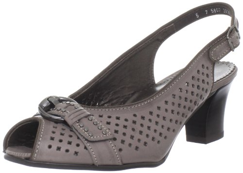 ara Womens Valentina Pump Chocolate Softbrush mamLmAQfS