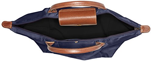 navy A Pliage 556 Mano Borsa Blu Longchamp Medium Donna pzZqwZgx
