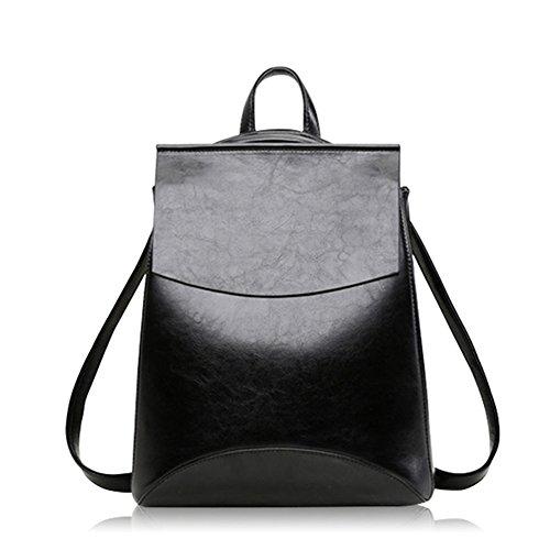LifenewBaby , Damen Satchel-Tasche schwarz schwarz schwarz