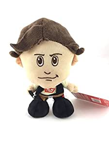 "Underground Toys Star Wars Plush - Stuffed Talking 7"" Han Solo Character Plush Toy [2017 The Last Jedi]"