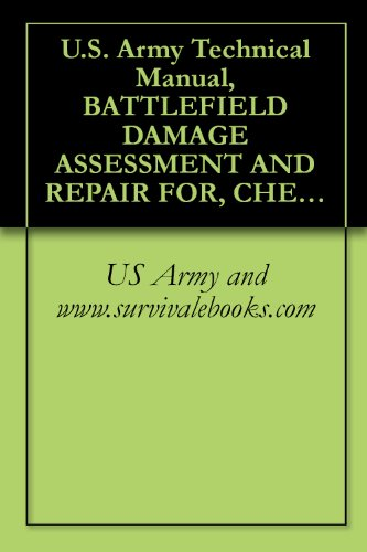 U.S. Army Technical Manual, BATTLEFIELD DAMAGE ASSESSMENT AND REPAIR FOR, CHEMICAL DEFENSIVE MATERIEL, TM 3-251-BD, 1987