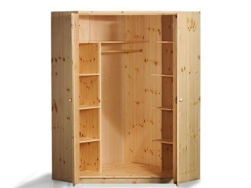 kinderzimmer kleiderschrank kiefer kinderzimmer kleiderschrank ritterburg aus kiefer in wei. Black Bedroom Furniture Sets. Home Design Ideas