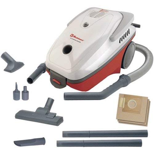 Koblenz DV-110 KG3 All-Purpose Fully Equipped Vacuum Cleaner, Gray/Burgundy - Corded