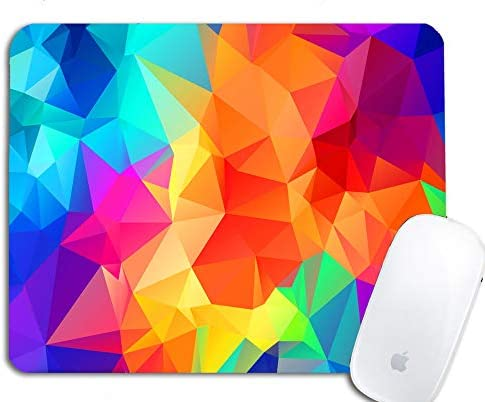 Studio Shubham Abstract Colorful Anti Skid Mouse pad for Laptop/Mouse pad for Computer/Mouse pad for Gaming/Mouse Pads for pc