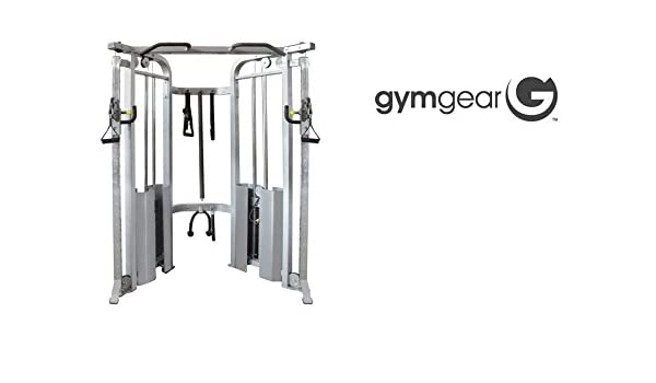 Gimnasio Gear Pro Series comercial polea ajustable Dual: Amazon.es ...