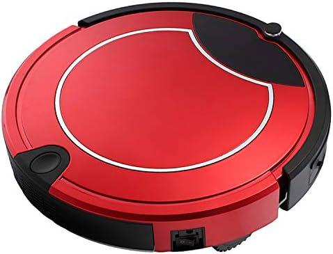 HUANGMENG Robot Intelligent TOCOOL TC-450 Robot Aspirateur Tactile Écran Tactile Robot Nettoyeur Ménager avec Télécommande (Noir) (Color : White) Red