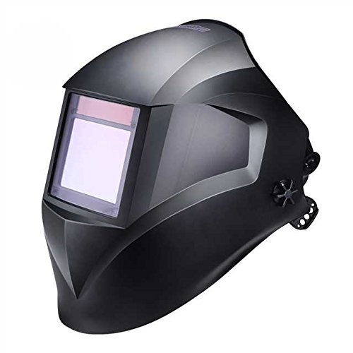 Pro Welding Helmet with Highest Optical Class (1/1/1/1), Larger Viewing Area(3.94